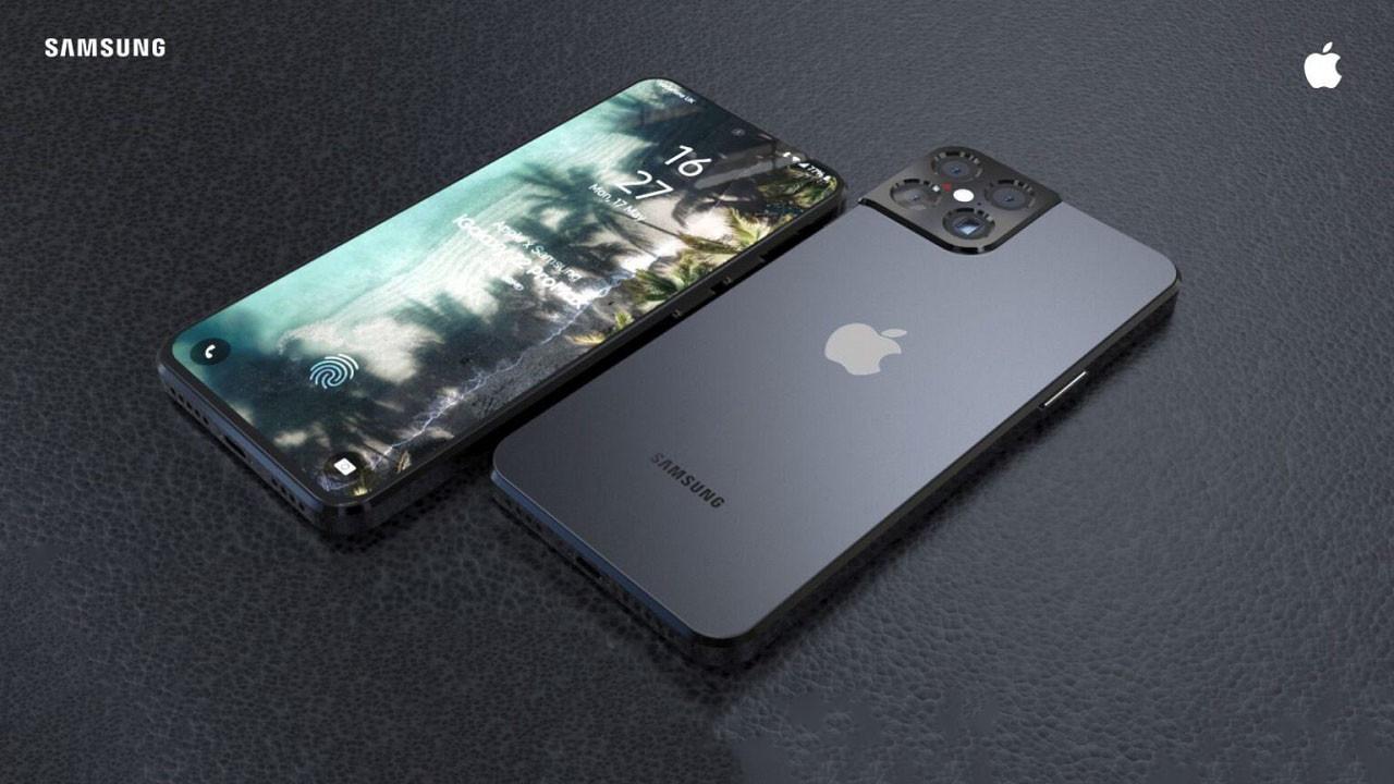 Apple ve Samsung ortak telefon yaparsa! İşte Sample!