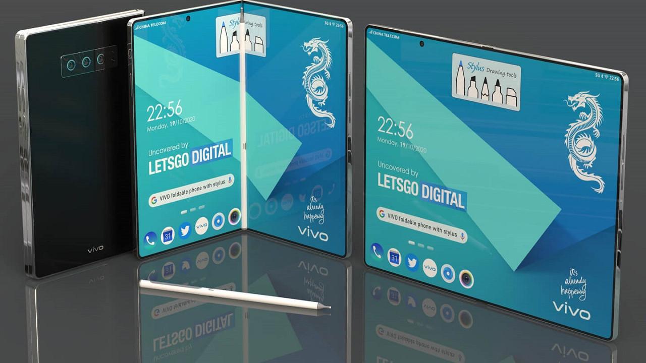 Vivo'dan yeni katlanabilir ve yuvarlanabilir telefonlar geliyor.