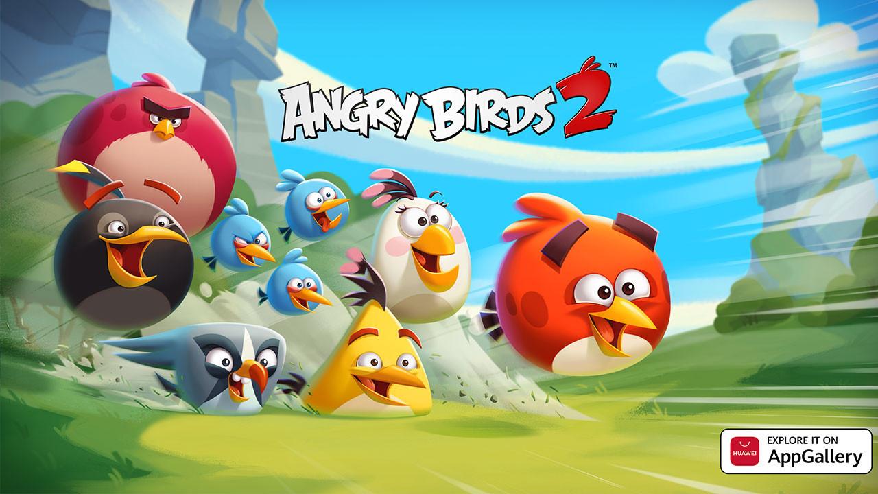 Angry Birds 2 Huawei ekosistemine geldi!