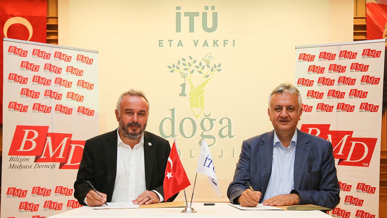 BMD ve İTÜ ETA Vakfı Doğa Koleji arasında iş birliği protokolü