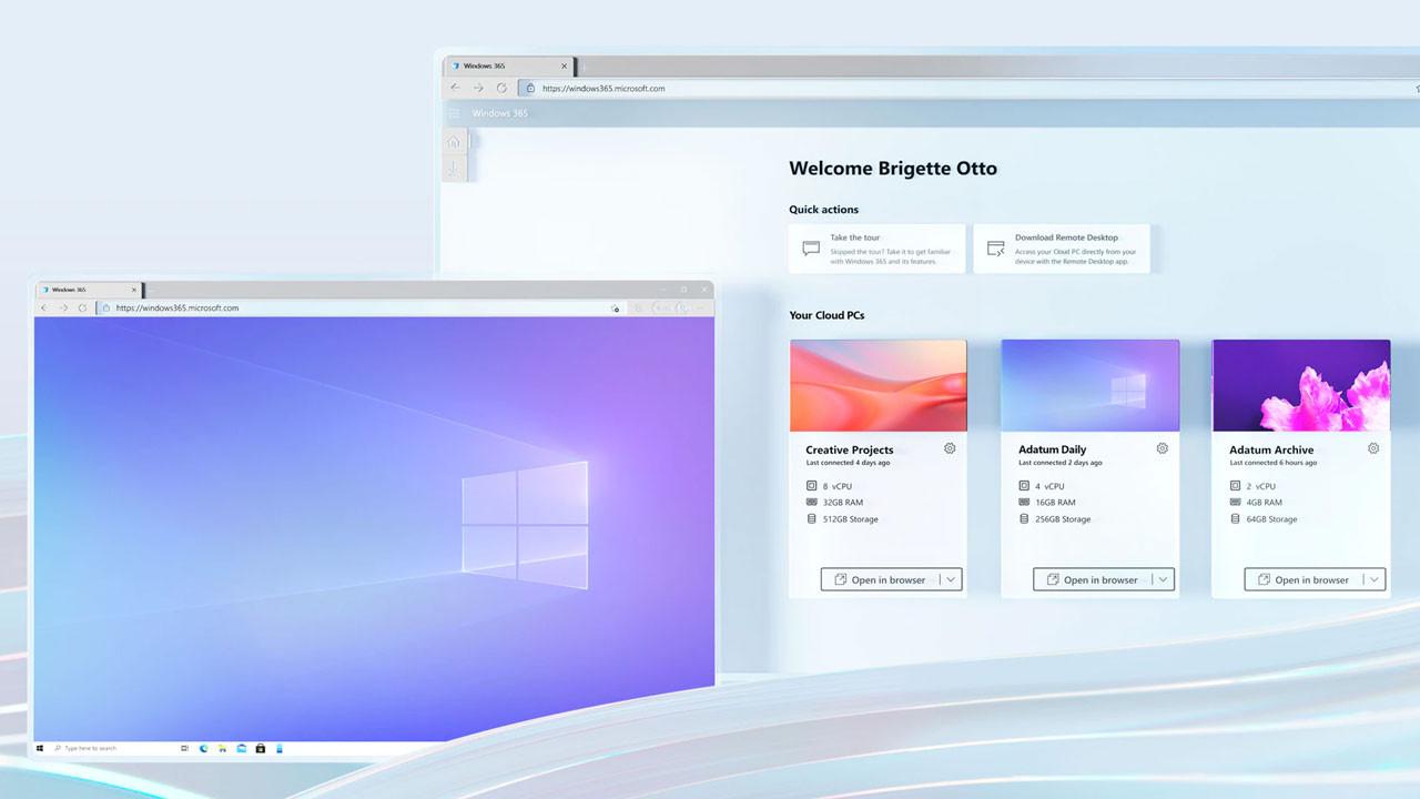 Microsoft'tan bulut bilgisayar sistemi: Windows 365