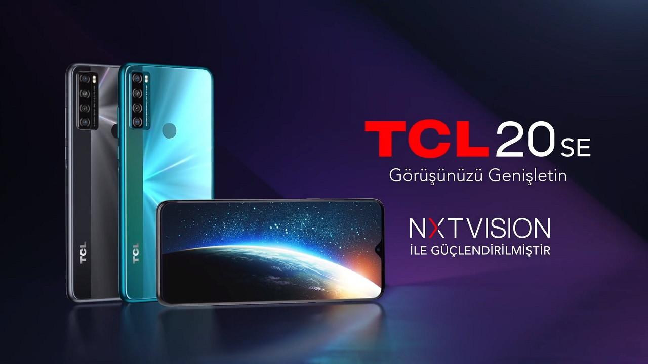 Yerli üretim telefon TCL 20 SE satışa sunuldu! İşte fiyatı ve özellikleri!