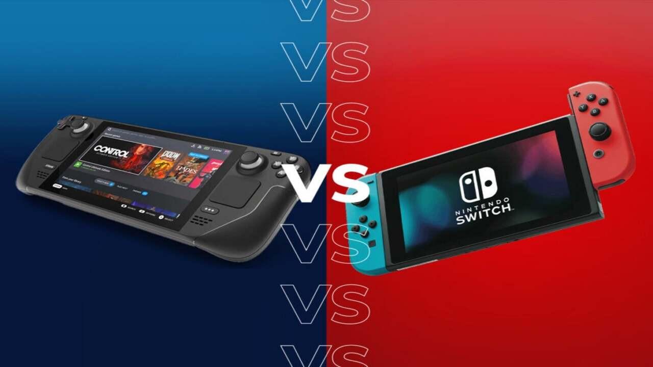 Steam Deck ile Nintendo Switch OLED karşı karşıya !