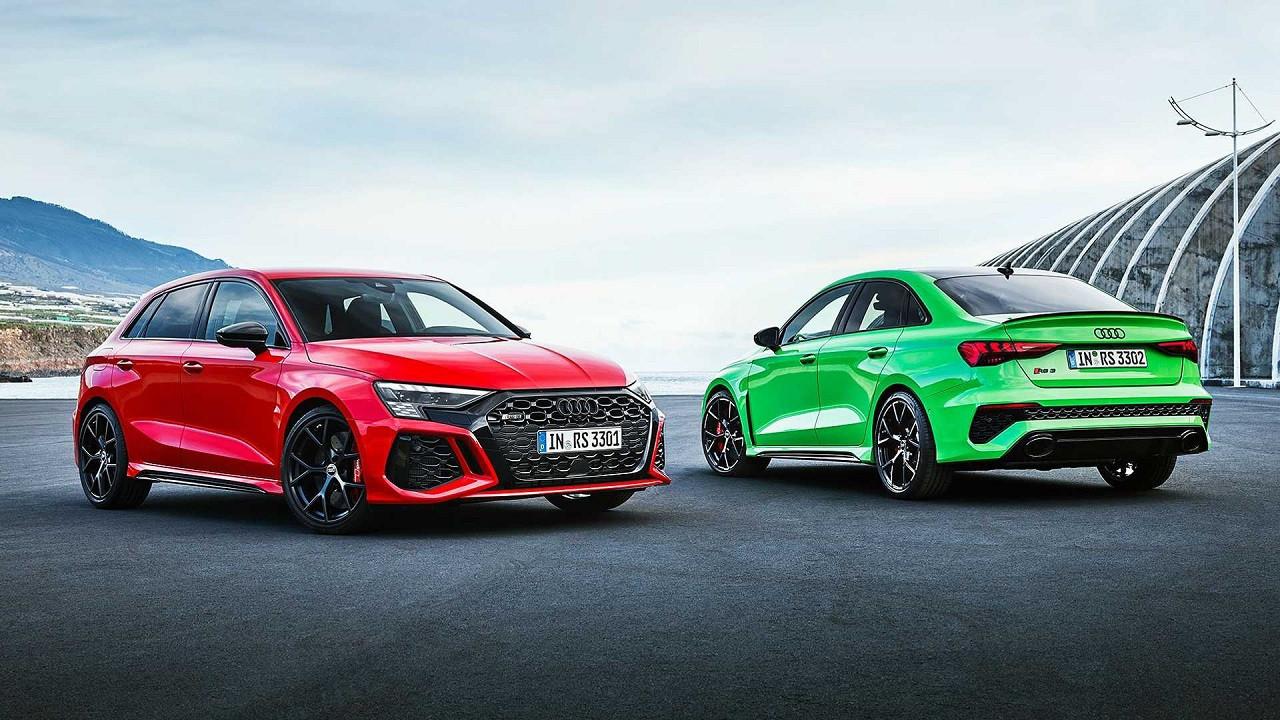 Yeni performans canavarı 2021 Audi RS3 Sedan!