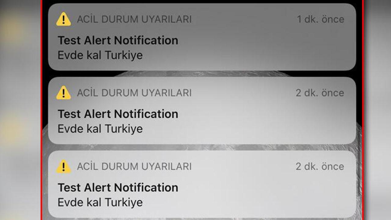 """Vodafone yanlışlıkla tüm Türkiye'ye """"Evde kal Türkiye"""" mesajı gönderdi!"""