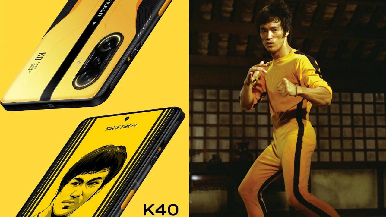 Redmi K40 G Bruce Lee Efsanesi ile geliyor!