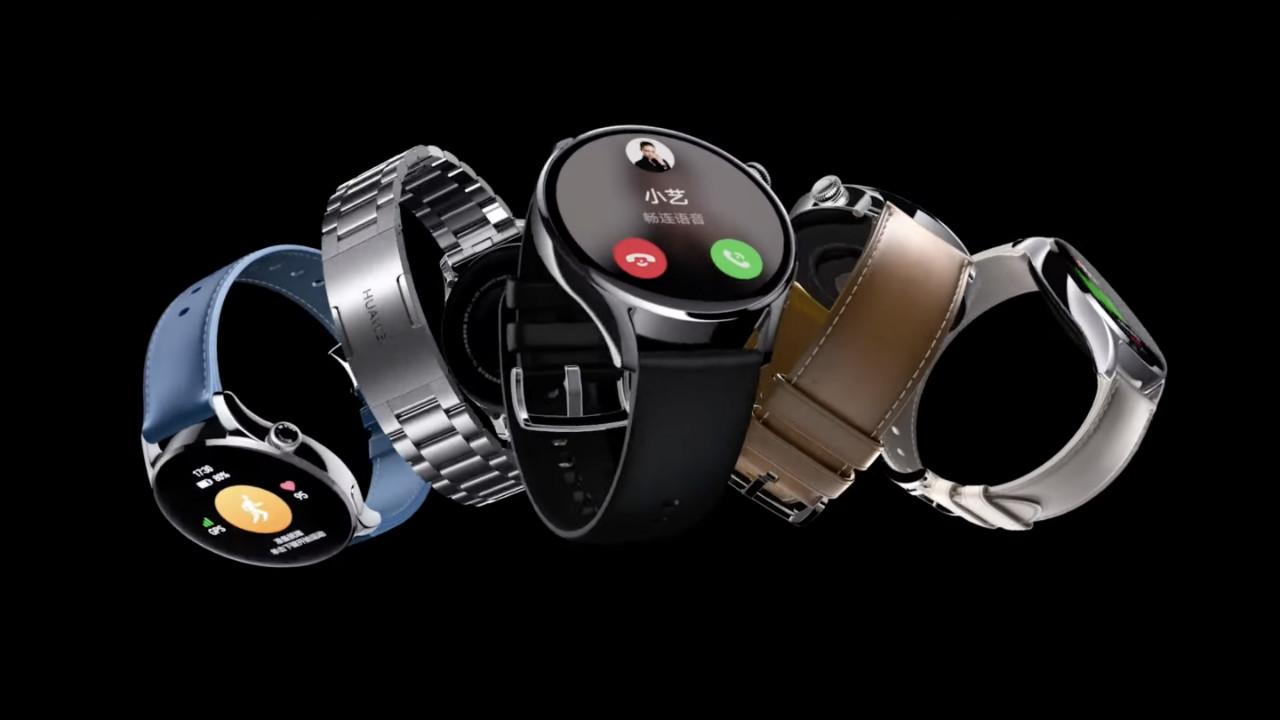 Huawei Watch 3'e yeni güncelleme ile yeni özellikler