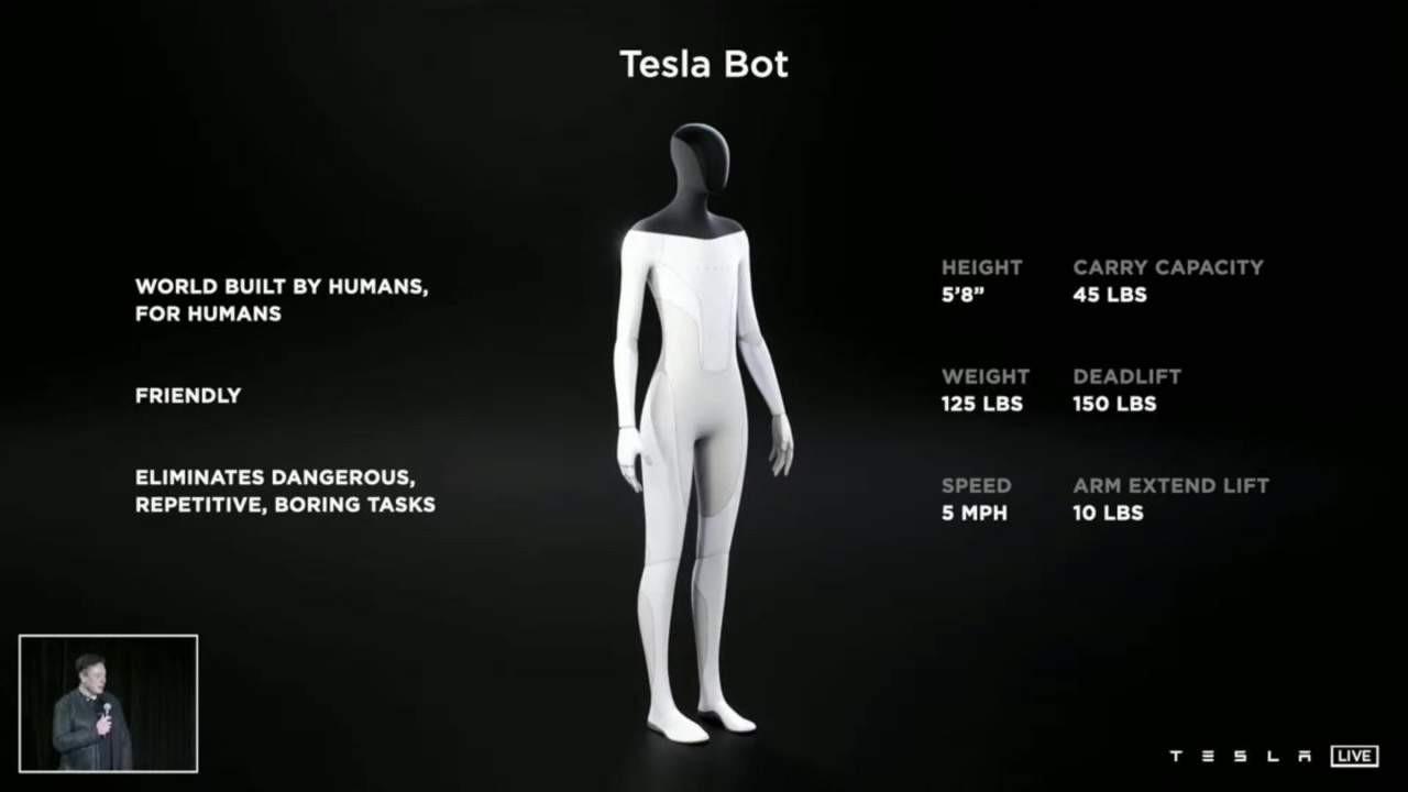 Tesla, şimdi de robot üretmeye başladı!