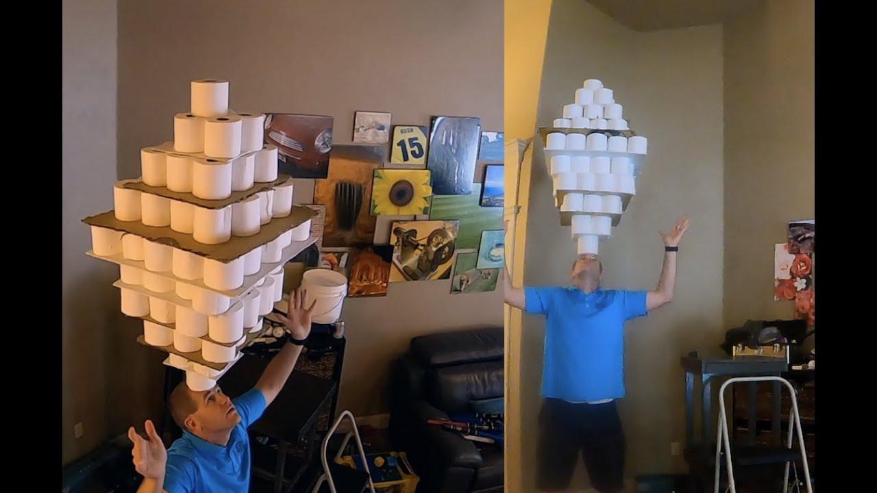 Guinness Rekorlar Kitabı'na girmek için bunu yaptı!