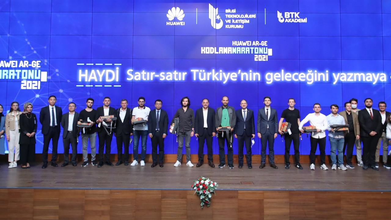 Huawei Ar-Ge Kodlama Maratonu Ödül Töreni Ankara'da gerçekleştirildi