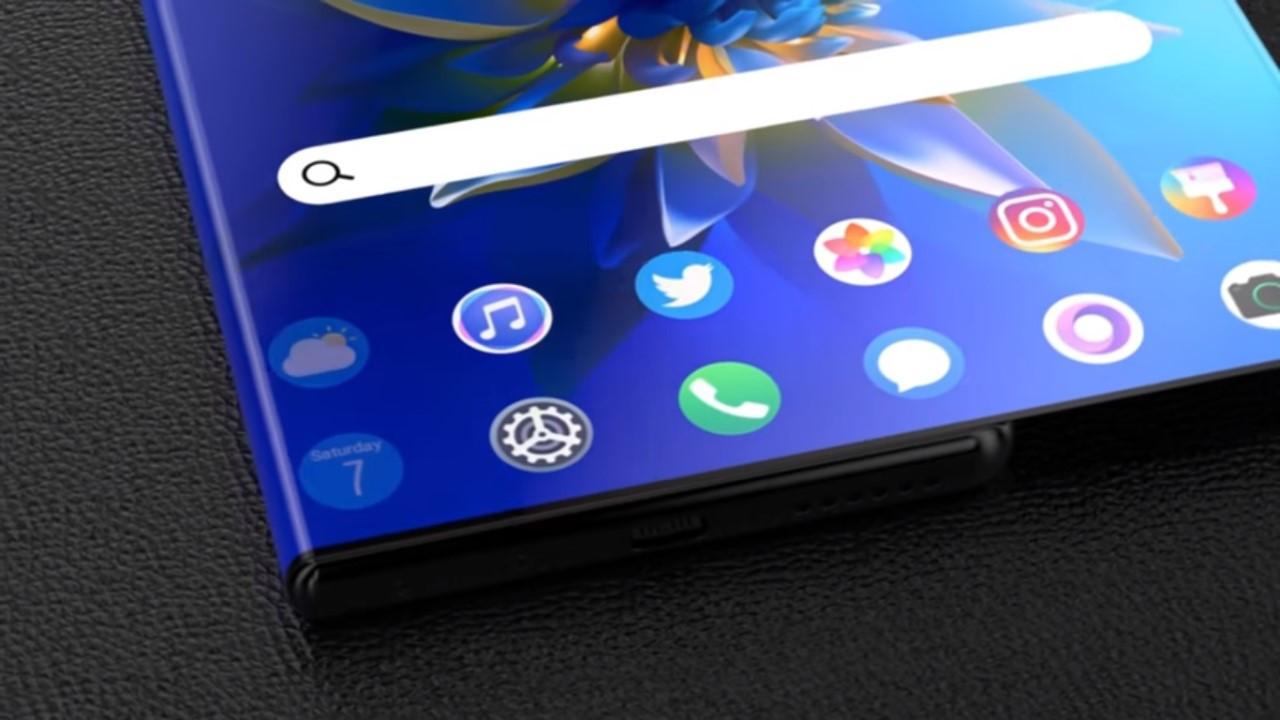 Esneyebilen Huawei Mate X akıllı telefon!