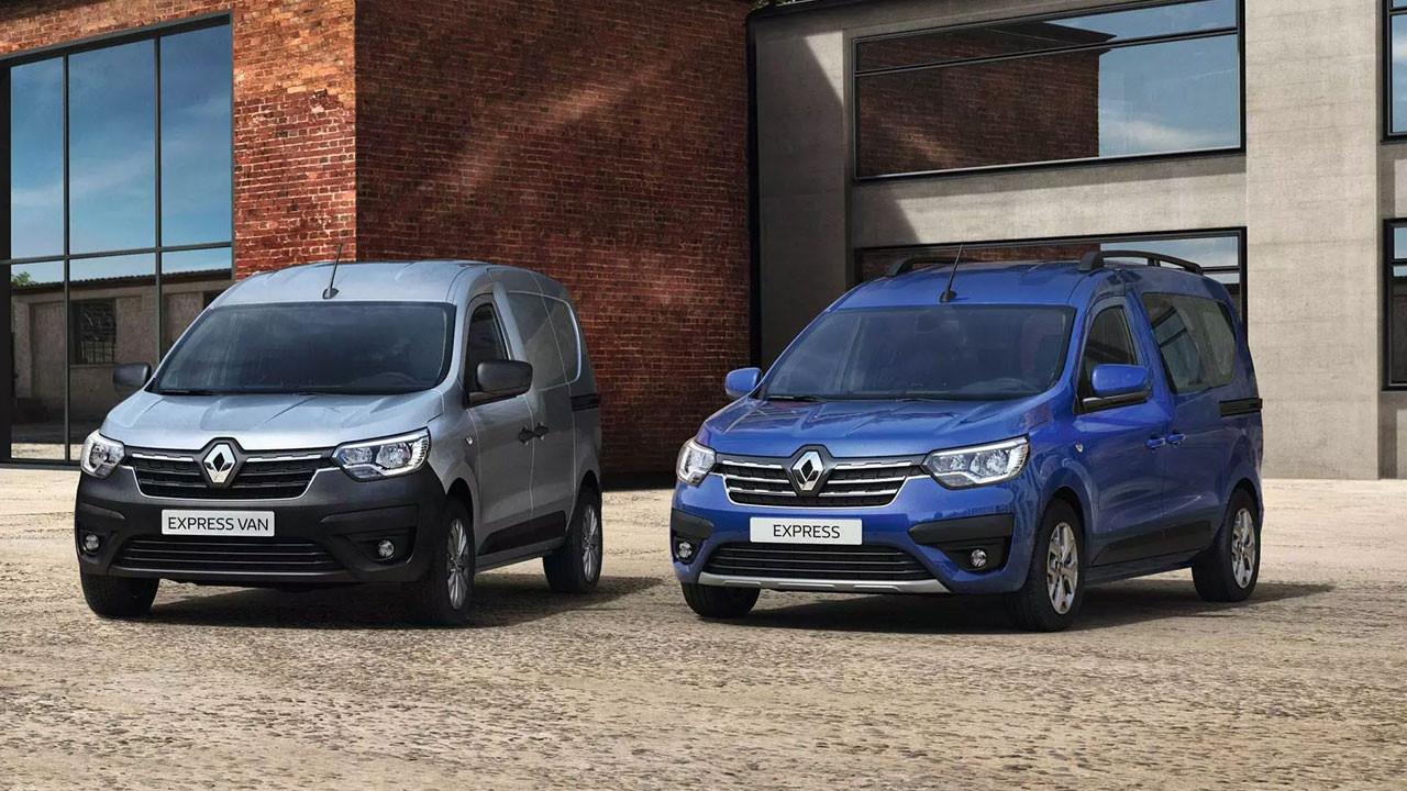 Yeni Renault EXPRESS Combi ve EXPRESS Van Türkiye'de satışa sunuluyor!