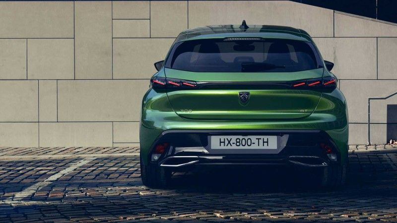 Electric Peugeot e-308 is the handsome of the industry! 3