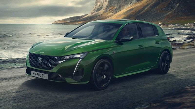 Electric Peugeot e-308 is the handsome of the industry! 5