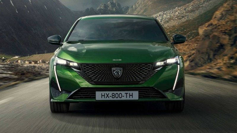 Electric Peugeot e-308 is the handsome of the industry! 4