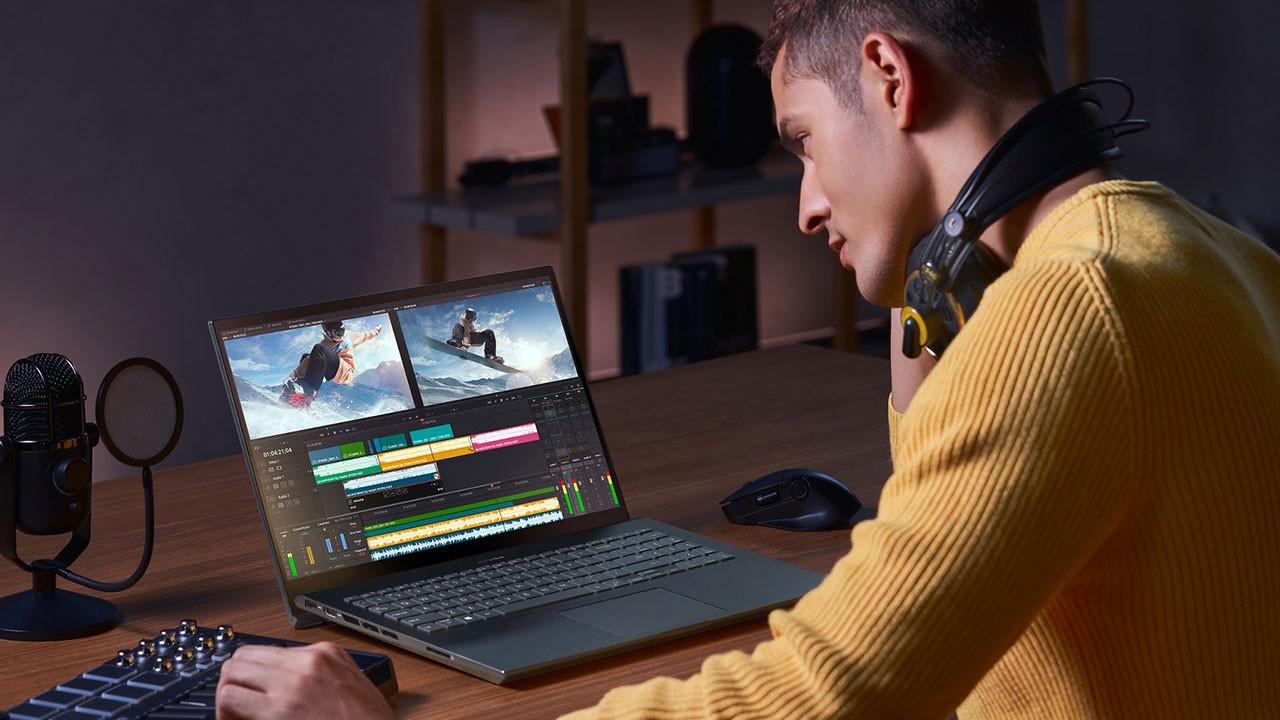 ASUS bilgisayarına OLED ekranı getirdi!