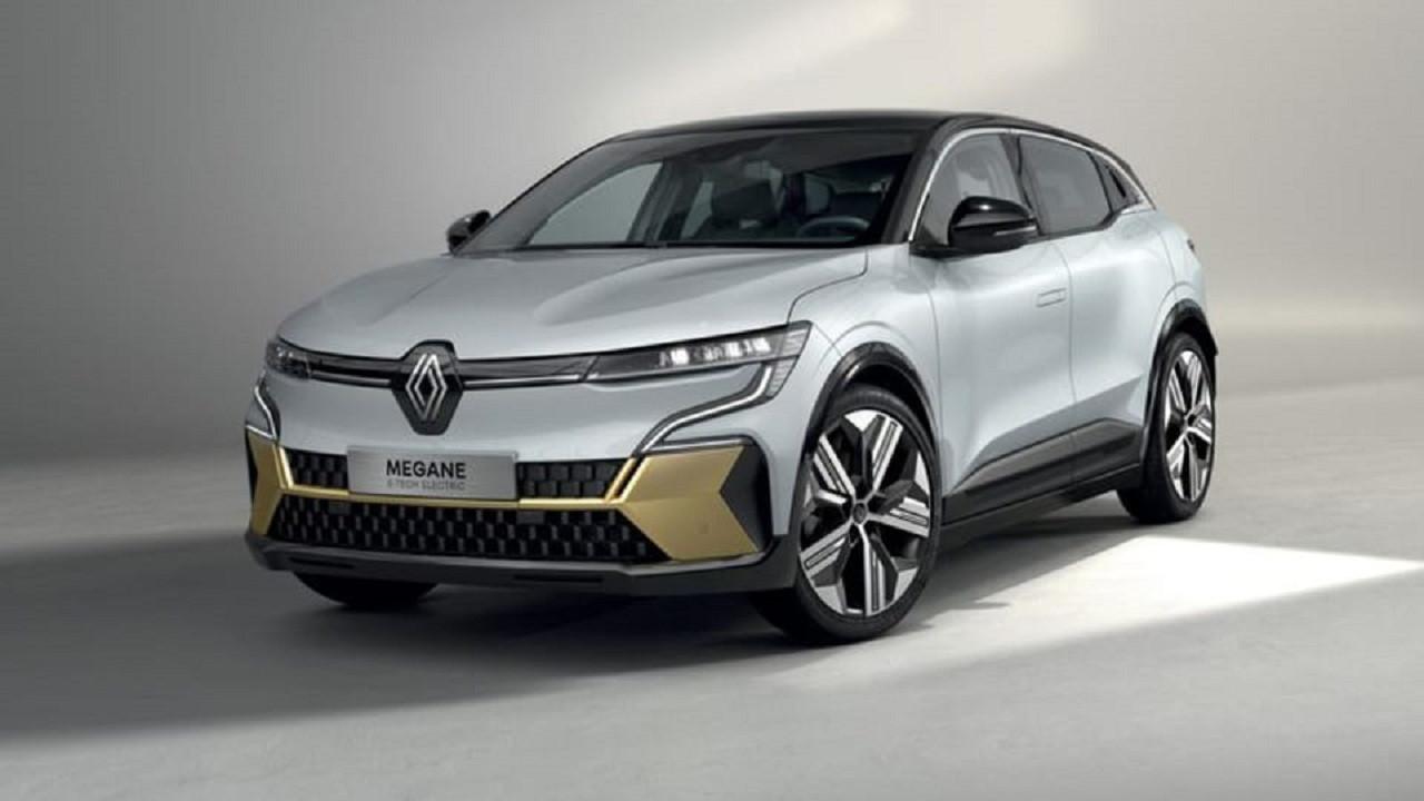 Renault Megane E-Tech Electric görselleri tanıtım öncesinde sızdırıldı!