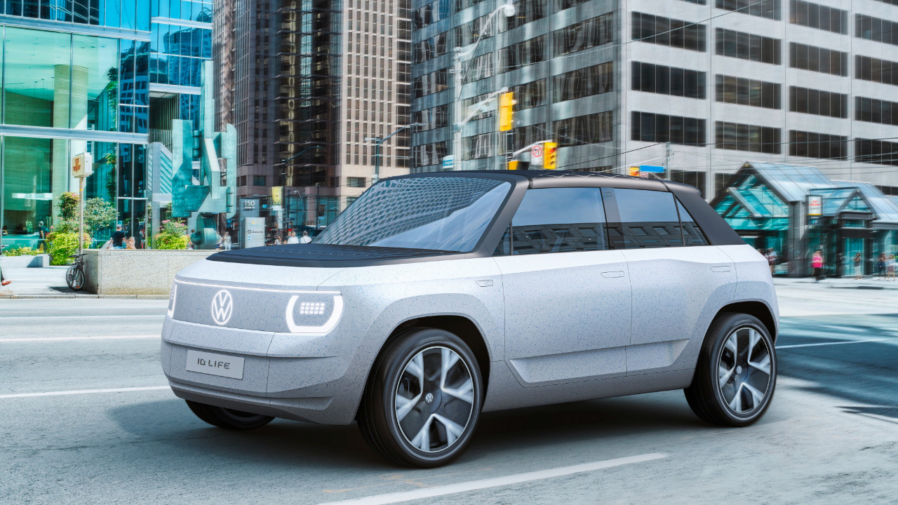Volkswagen unveils electric vehicle design that looks like it's straight out of the future 2