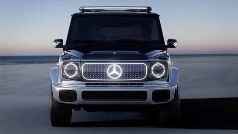 Mercedes-Benz EQG elektrikli küp! - Page 2