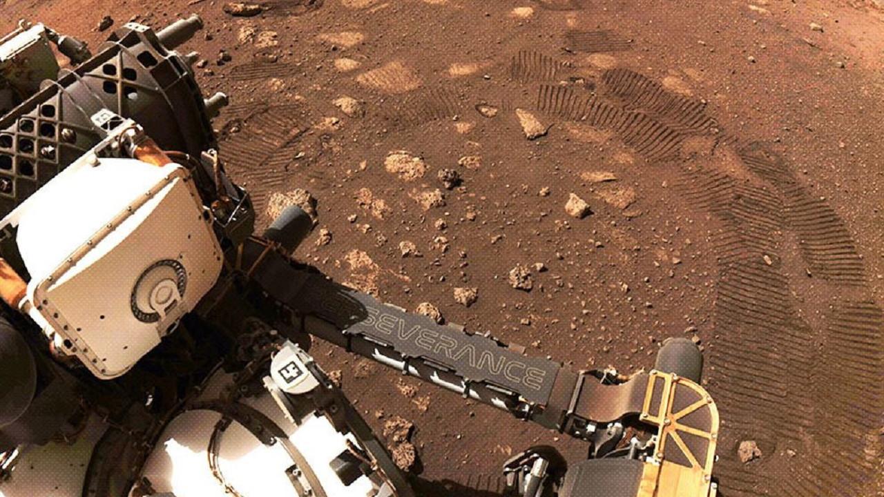 Mars gezgini Perseverance, Mars'taki ilk numunesini topladı!