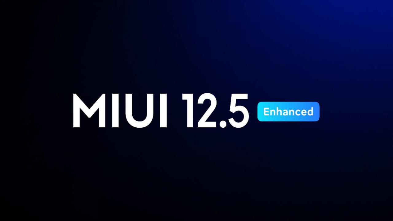 MIUI 12.5'in geliştirilmiş sürümünün ikinci uygun cihaz listesi! Yeni cihazlar eklendi!
