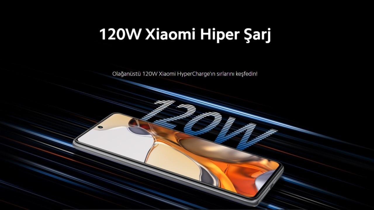 Xiaomi HyperCharge teknolojisine sahip ilk telefonunu tanıttı!