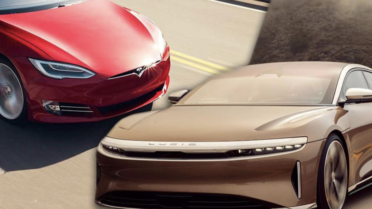 Tesla'yı tahtından eden model! Lucid Air Dream Edition!