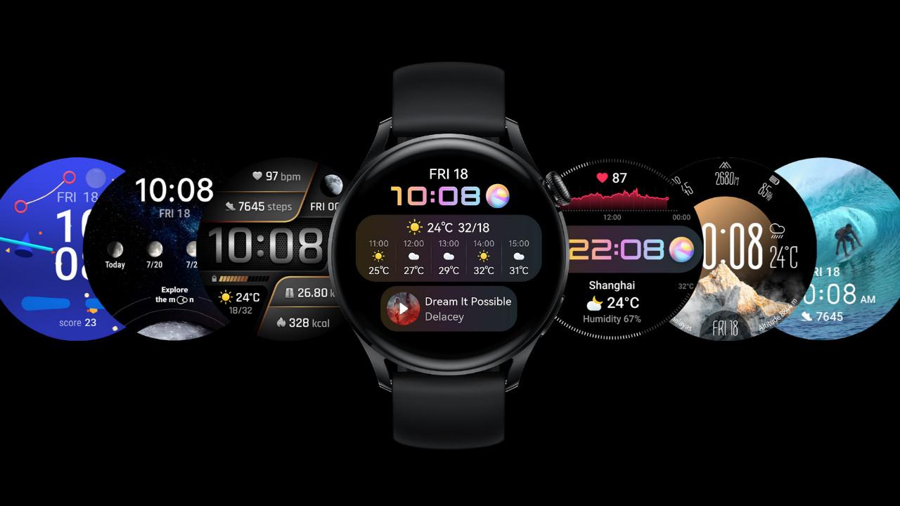 Huawei Watch 3 kişiselleştirme özelliği alıyor