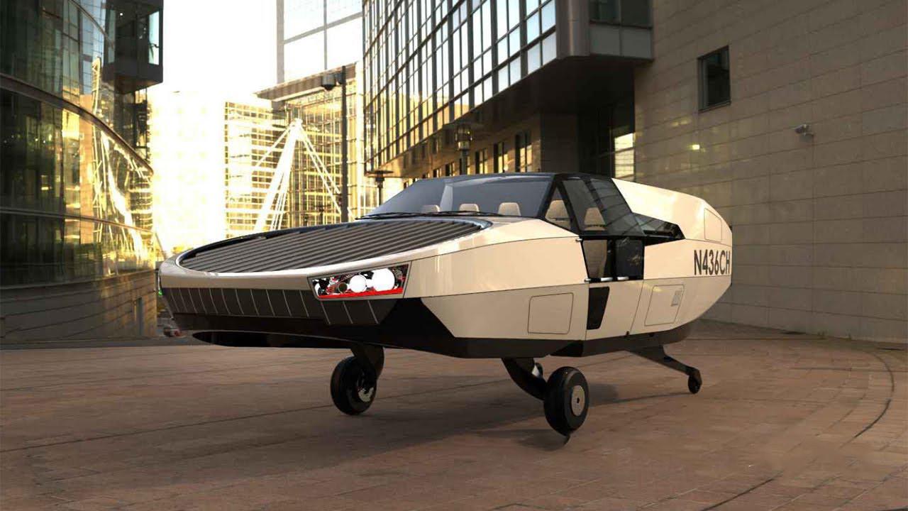 Yok artık! Kanatsız uçan araba yaptılar CityHawk!