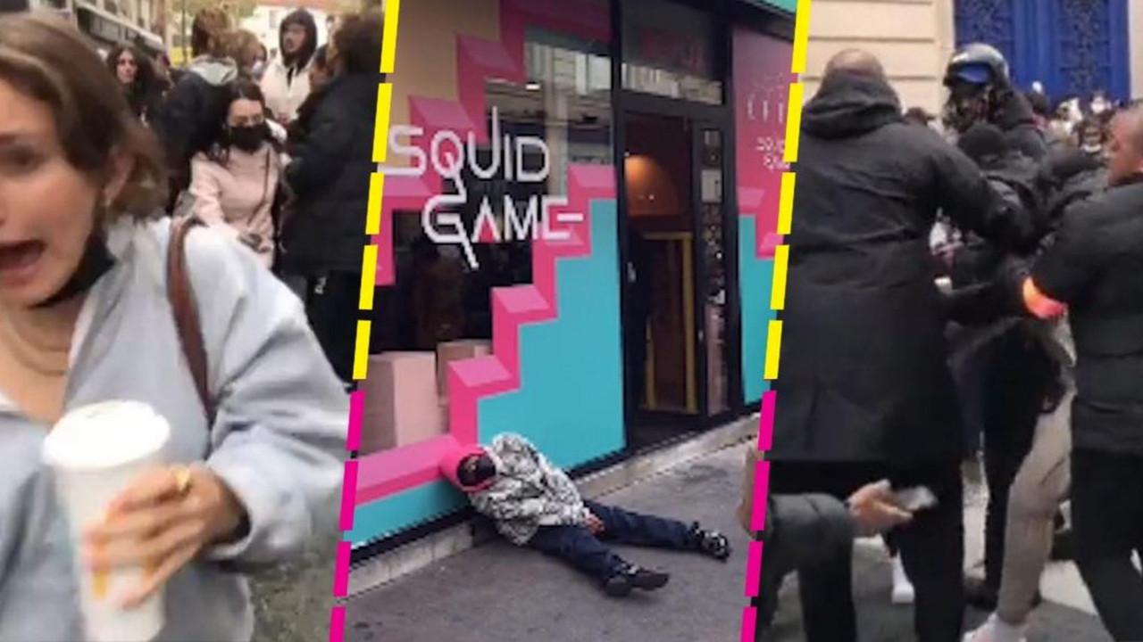 Squid Game gerçek oldu! İnsanlar birbirini ezdi