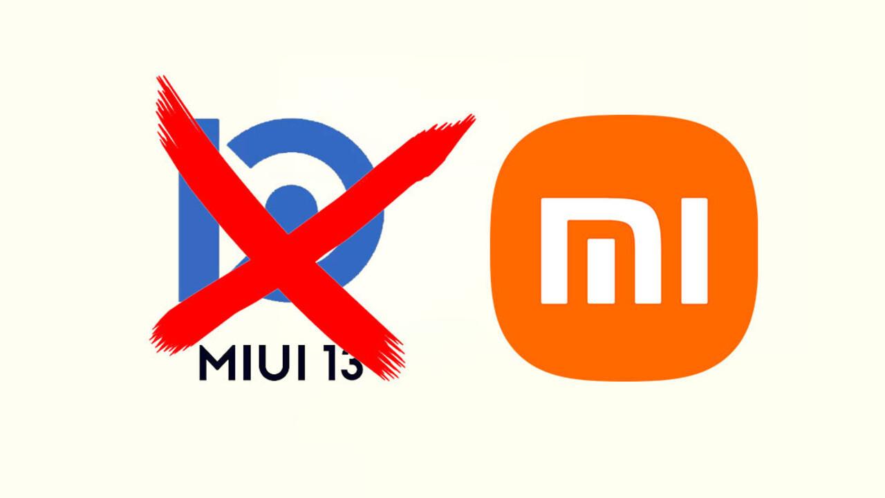 İşte MIUI 13'ü almayacak olan Xiaomi cihazlarının listesi!