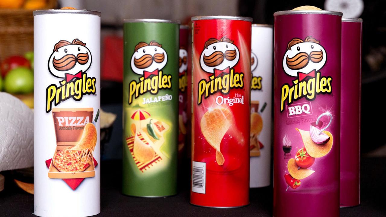 Pringles logosunu değiştirdi! Yeni logo tepki topladı