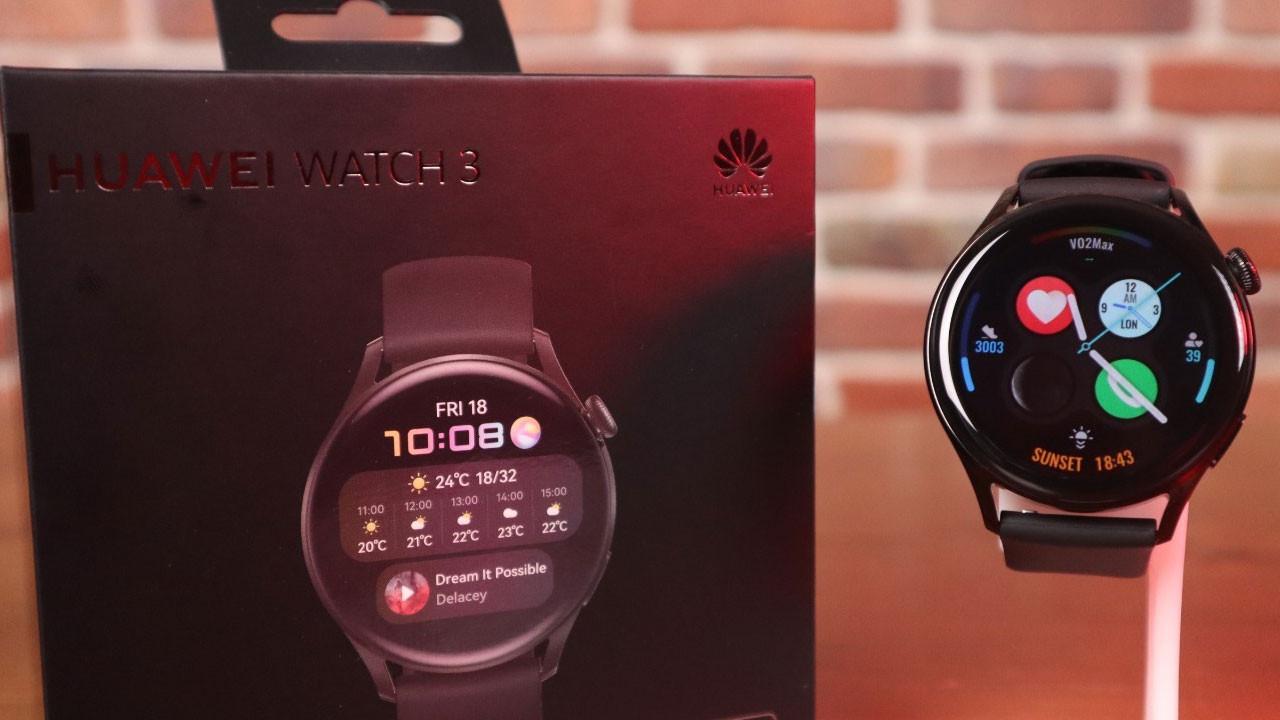 Huawei Watch 3: e-SIM özellikli akıllı saat!
