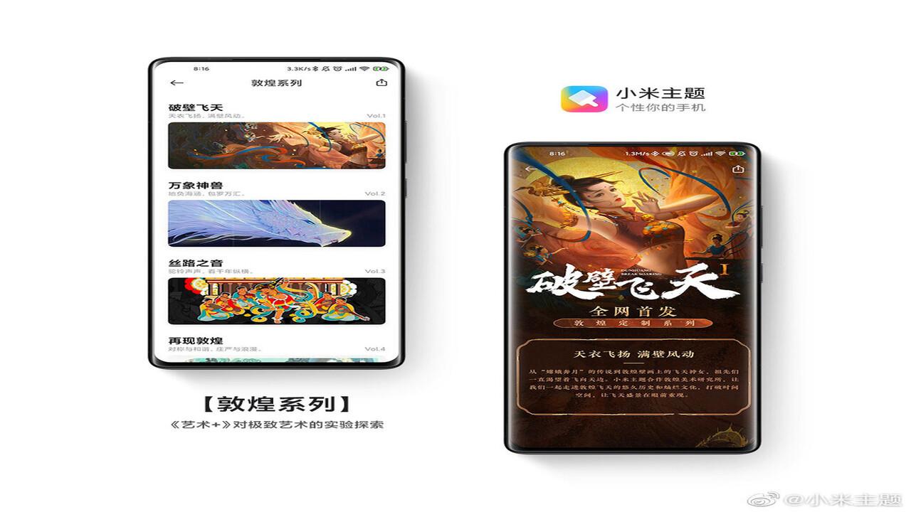 Xiaomi, Van Gogh ve diğer temalar ile telefonunuzu sanat eserine dönüştürüyor!