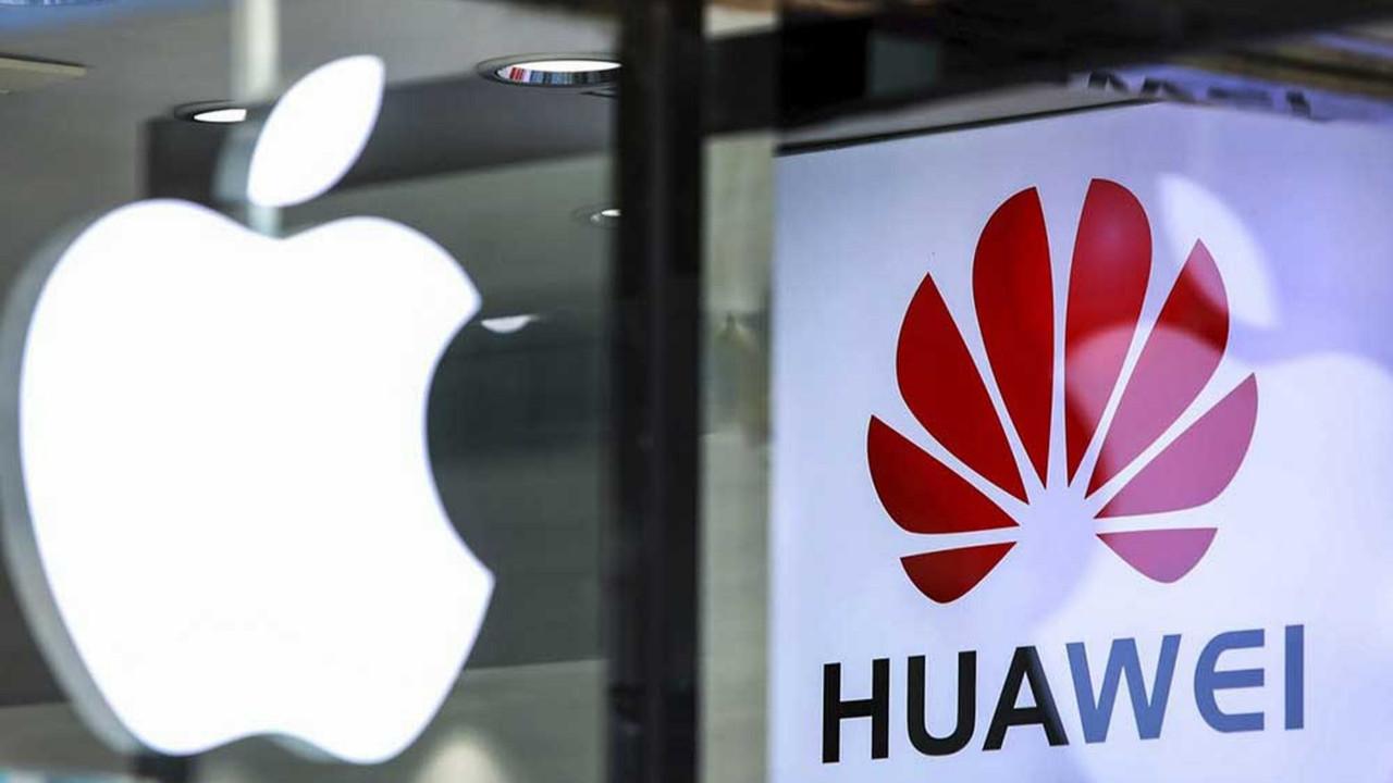 """Apple, Huawei ile giriştiği """"isim kavgasını"""" kaybetti"""