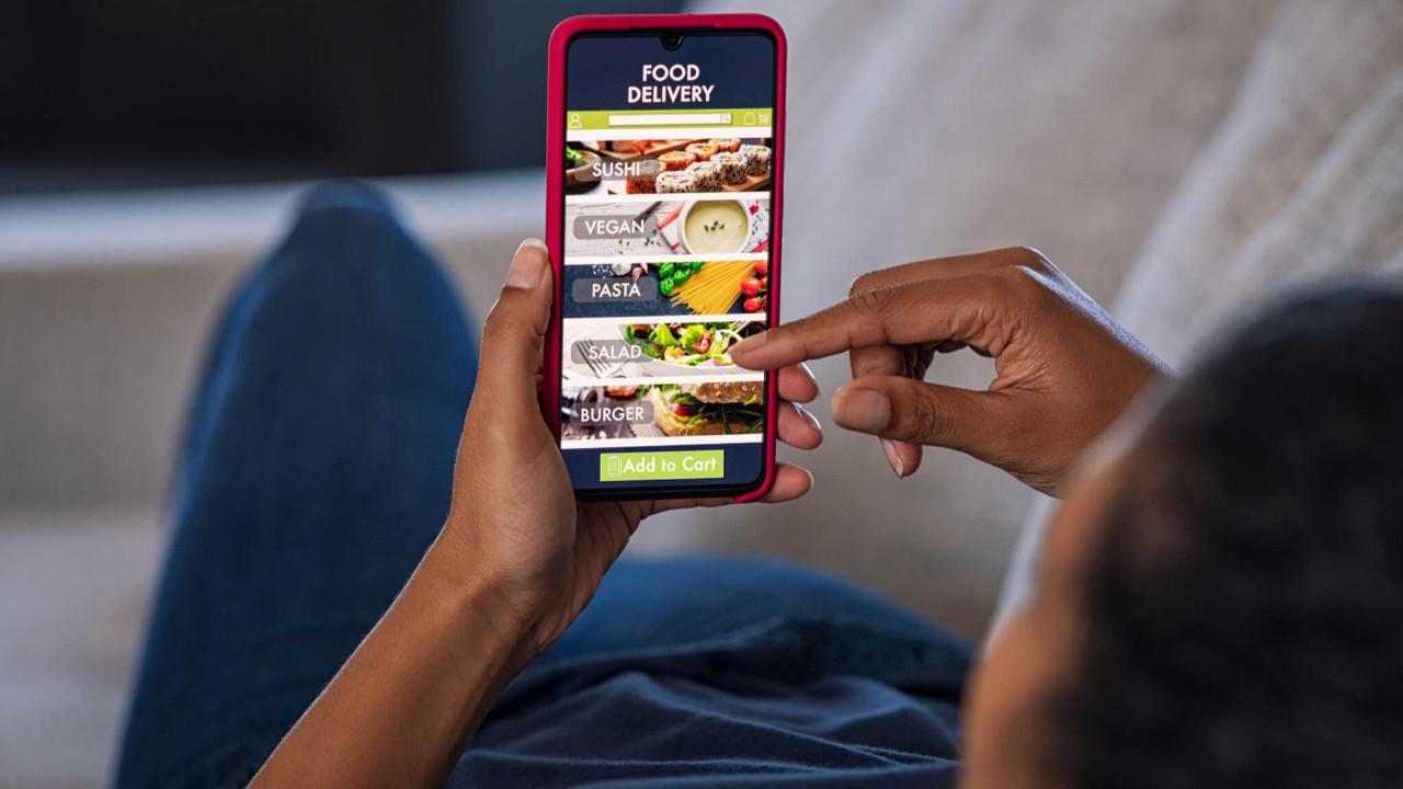 Online yemek sektörü aldı başını gidiyor! Şaşırtan büyüme oranı
