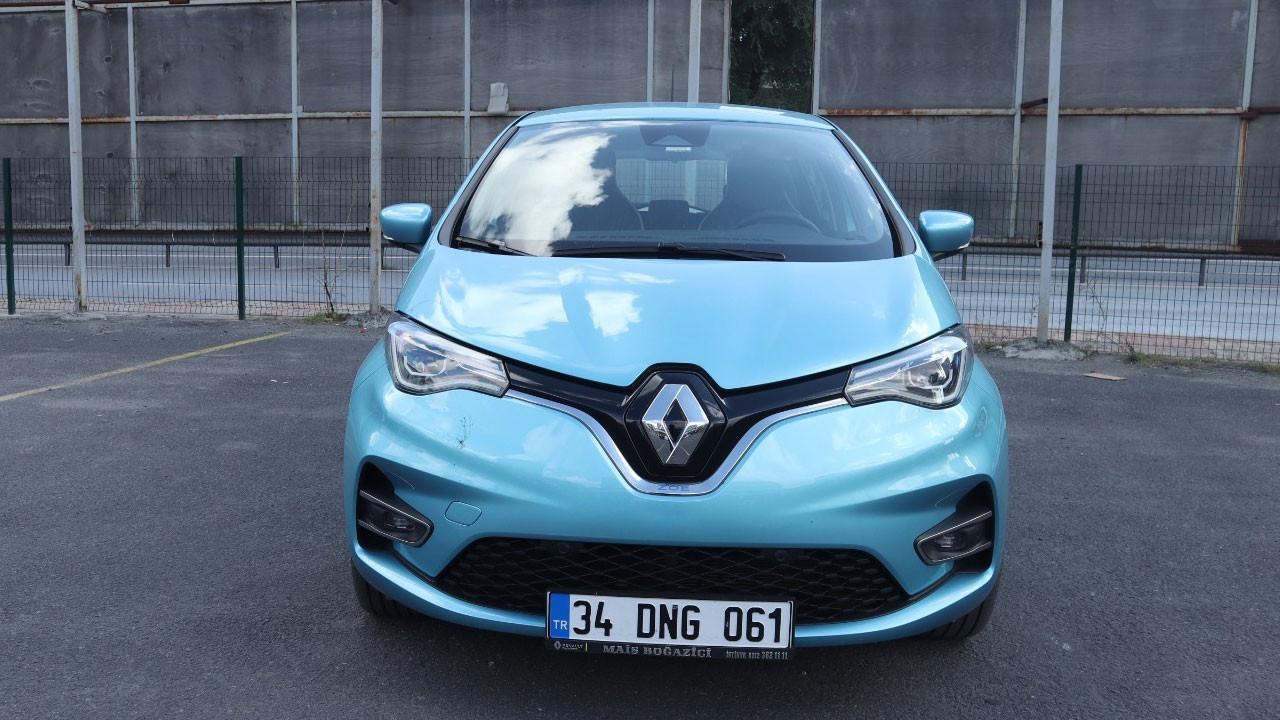 Yüzde 100 elektrikli Renault Zoe Z.E 50 inceledik
