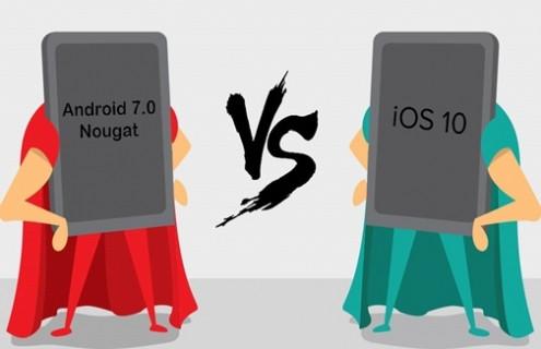 Android 7.0'nin  iOS 10'u ezdiği 5 özellik