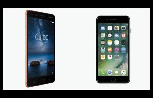Apple iPhone 7 ve Nokia 8 karşılaştırma