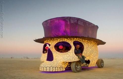 Bir festival için tasarlanan benzersiz otomobiller