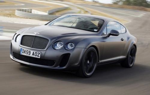 Dünyanın en hızlı ve en güçlü dört koltuklu otomobili Bentley Continental Supersports