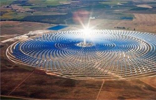 Fas dünyanın en büyük güneş enerjisi santralini açtı