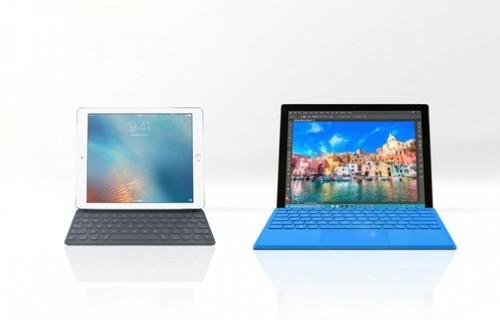 iPad Pro 9.7 ve Microsoft Surface Pro 4 karşılaştırma