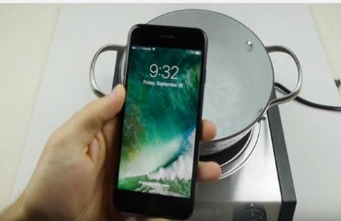 iPhone 7 fokur fokur kaynatıldı