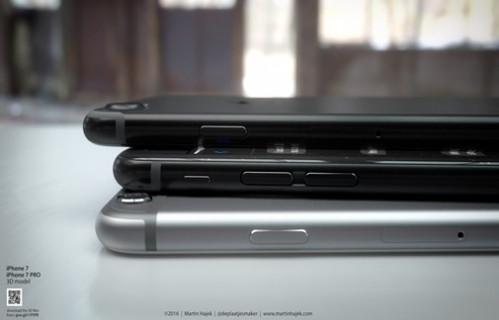 İşte iPhone 7'nin renk seçenekleri