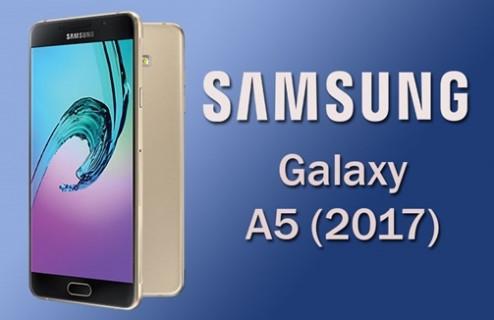 Samsung Galaxy A5 2017'nin görselleri sızdı