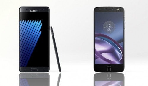 Samsung Galaxy Note 7 ve Moto Z karşılaştırma