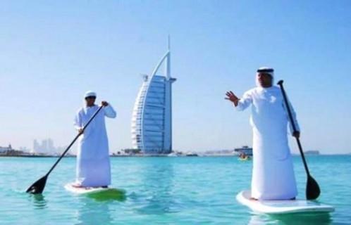 Teknolojiyi abartan Dubai zenginleri