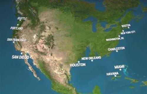 Tüm buzullar eridiğinde yeni dünya haritası nasıl olacak?