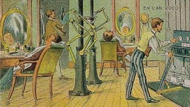 100 yıl önce geleceği böyle çizmişlerdi! - Page 1